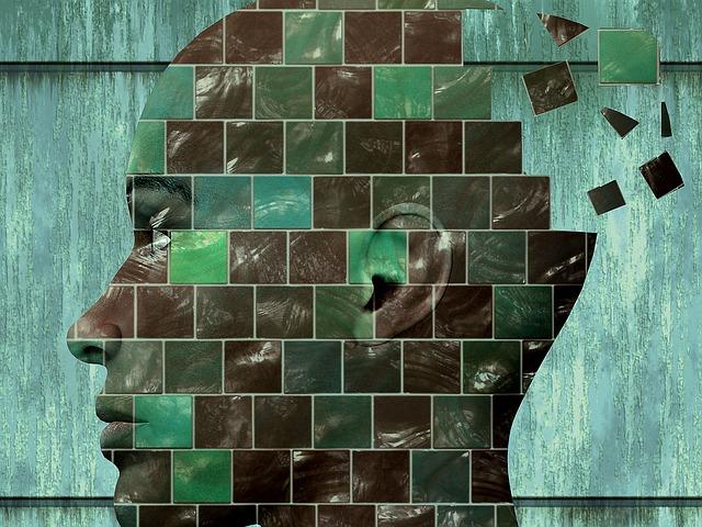 hlava a myšlenky