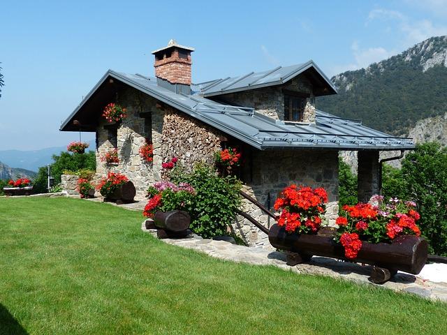 dům v horské oblasti