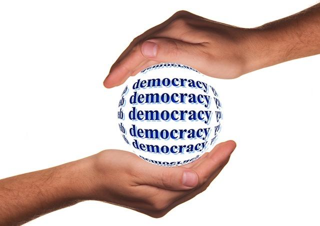 demokracie v rukou