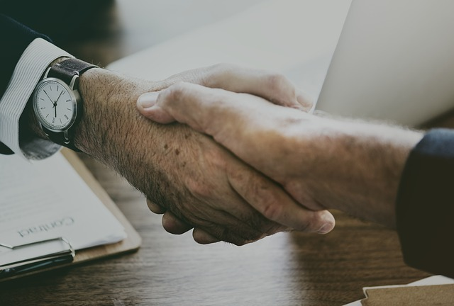 Podání rukou, dohoda